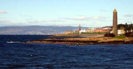Firth of Clyde, Largs Pencil.  Creative Commons image credit:  Dave Souza